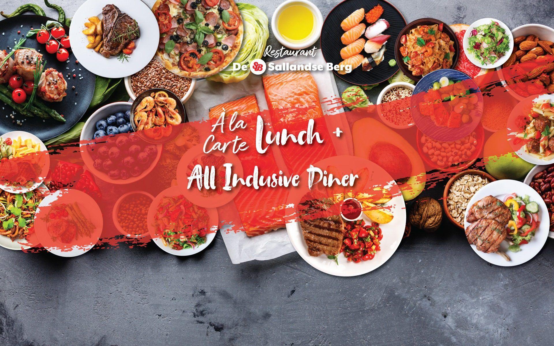 Lunch Diner All Inclusive De Sallandse Berg