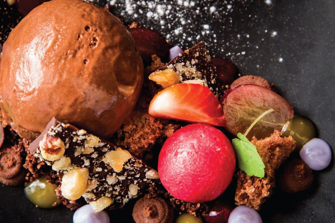 Chocolade-Nagerecht-Restaurant-De-Sallandse-Berg